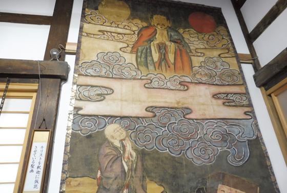 隠れキリシタンの仏画…?