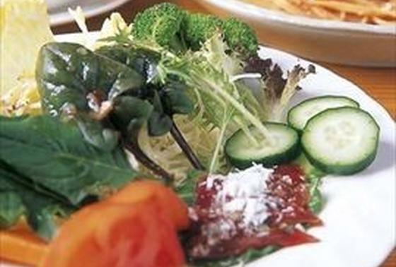自家製野菜が美味です!