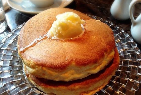 ふっかふかのパンケーキ