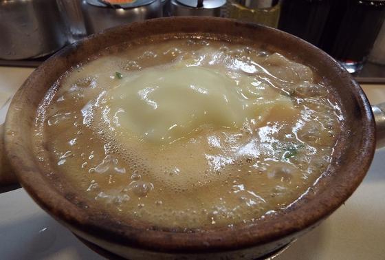 天下一品 土鍋チーズ