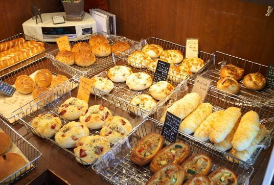 パンの種類は多いです