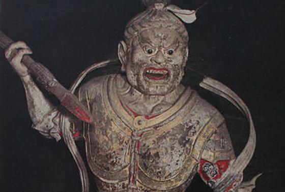秘仏、執金剛神像