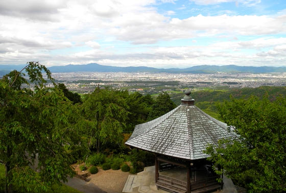 京都市街の眺め