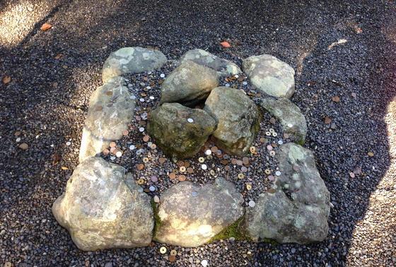 温かさを感じる石