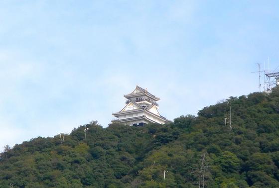 金華山山頂の岐阜城