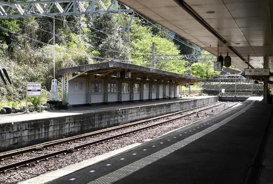 駅構内の様子
