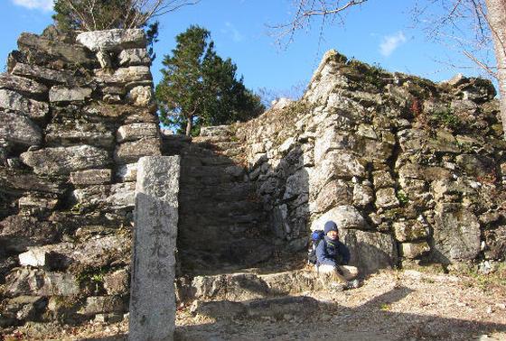 一宮城は加納藩一万三千石の居城