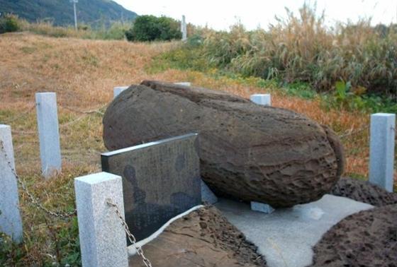 東京湾を護る「吽(うん)形」御神石