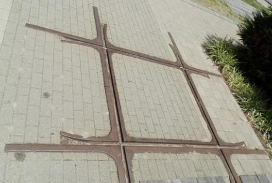西宮北口の象徴だった「ダイヤモンドクロス」は今もここにある