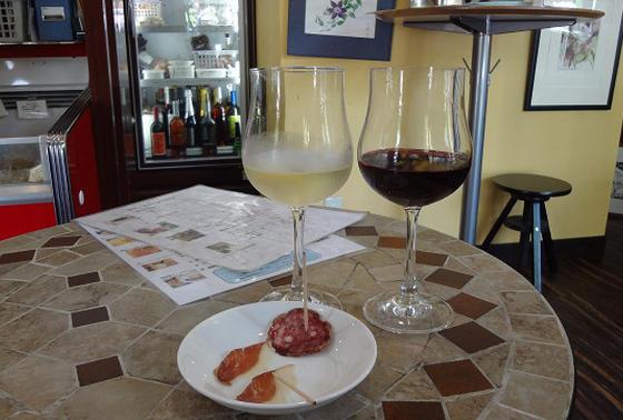 ワインと一緒にも楽しめるぽい
