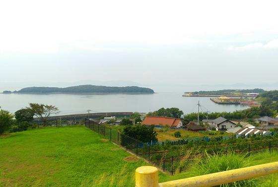 水俣湾を眺めて。