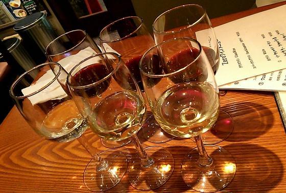 ワイン飲み比べ♪