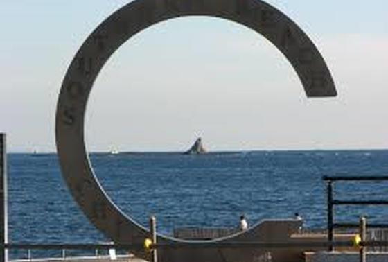 ビーチのシンボル!