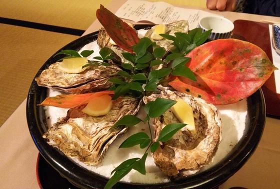 焼き牡蠣🐚