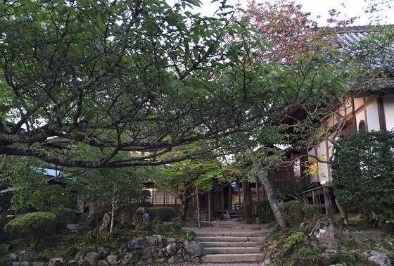 大和三庭園のひとつ群芳園