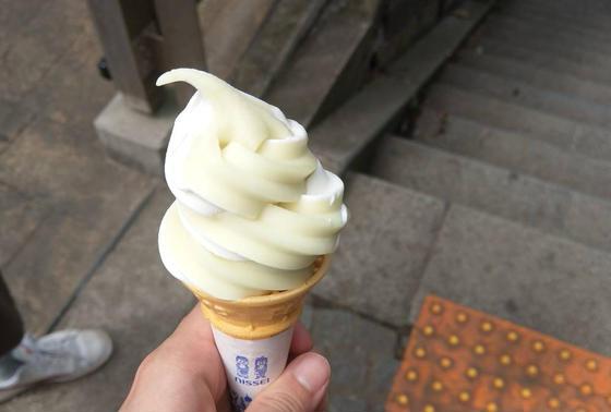 メロンアイス