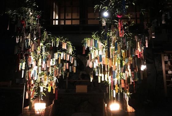 貴船神社 七夕笹飾り