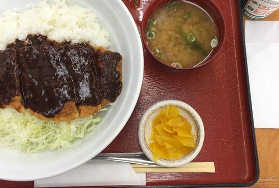 加古川名物 ビーフカツ飯なるもの食す