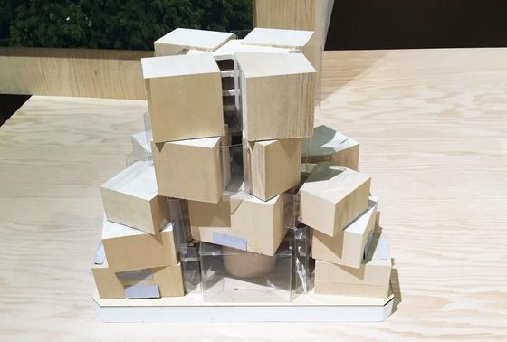 シドニー工科大学の模型.2