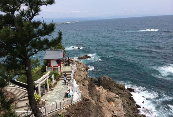 竜王岬の海津見神社