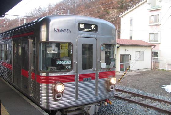 屋代線列車