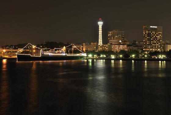 夜景がすごく綺麗らしい!
