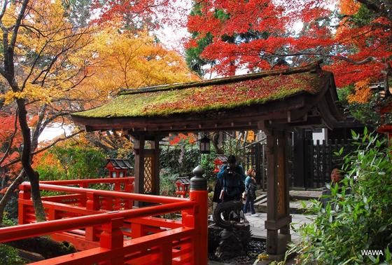 鞍馬寺への参道
