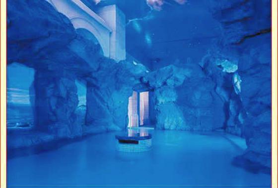 青の洞窟のお風呂