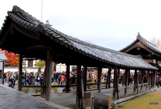 東福寺通天橋に続く廊下