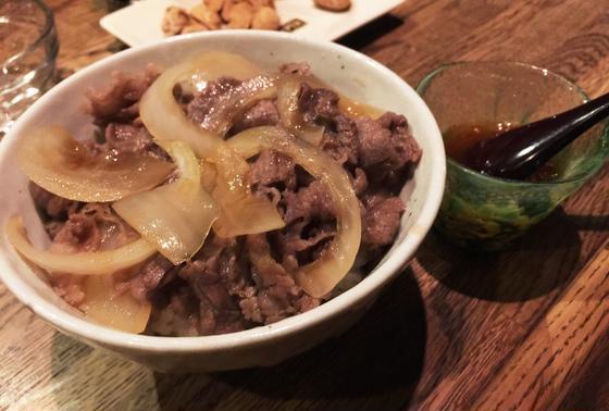 マッカラン牛丼