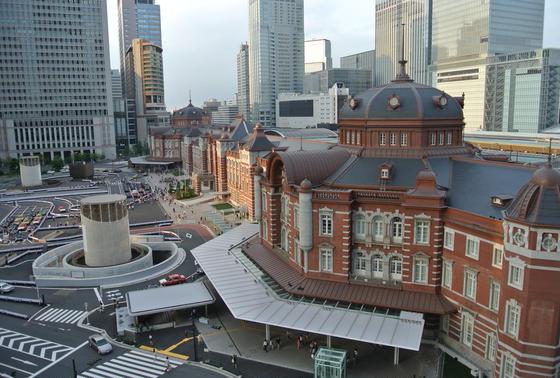 KITTEから眺める東京駅
