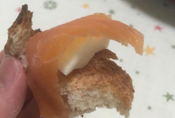 コンプレwithチーズ&サーモン