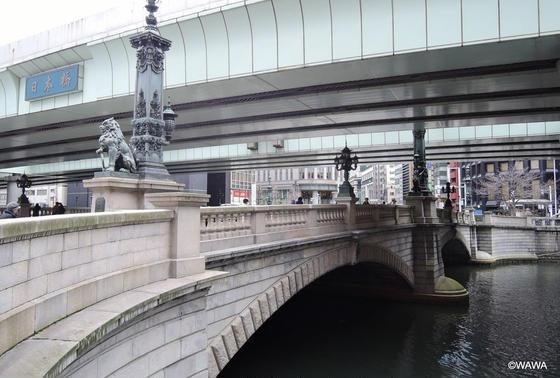 現代の日本橋と日本橋川
