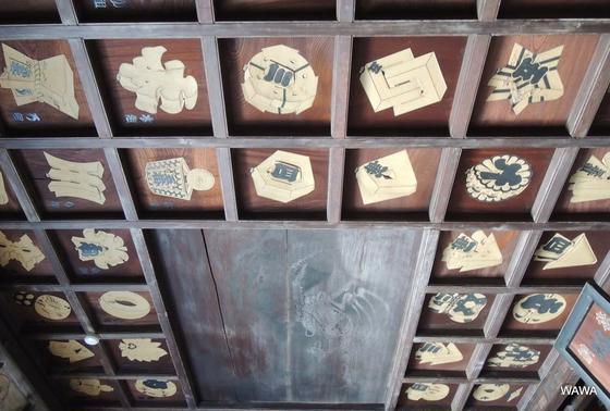 格天井纏鏡板 海雲寺