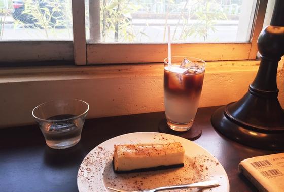 オレグラッセとチーズケーキ