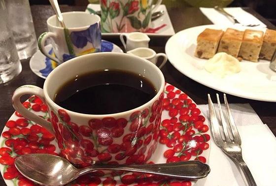 可愛らしいコーヒーカップ