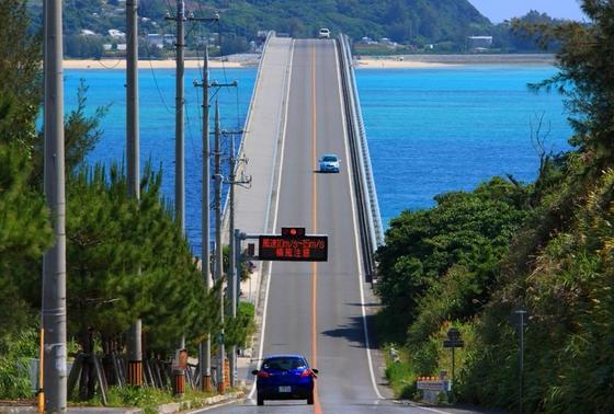 橋が見えたときの感動!