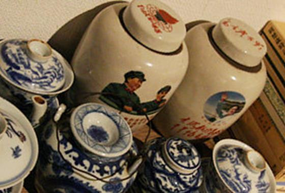 本場中国の茶藝館のよう!