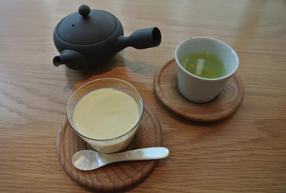 DOの緑茶&プリン