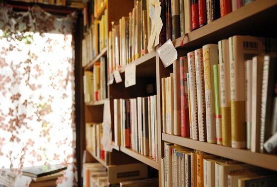 たくさんの本。