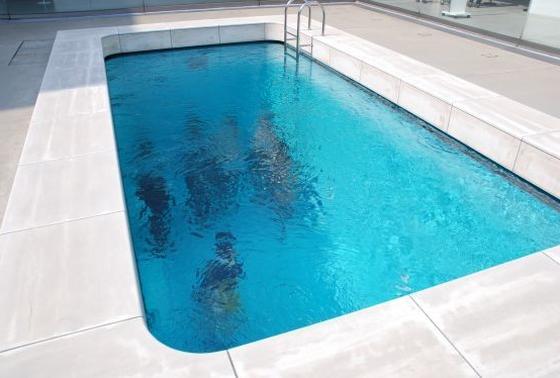 21世紀美術館と言えば、このプール!