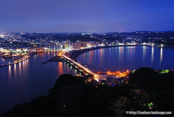 鎌倉の夜景を思い出に、明日からも頑張ろう!