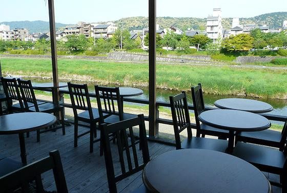 川床×カフェ!