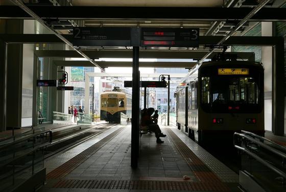 富山駅乗り場