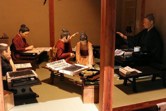 江戸町民の暮らしがわかる模型ゾーン
