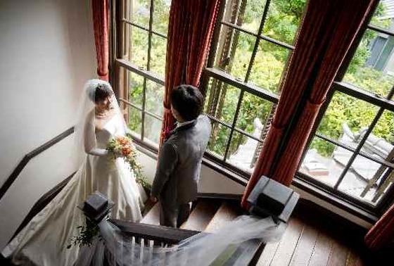 西洋館で結婚式♪