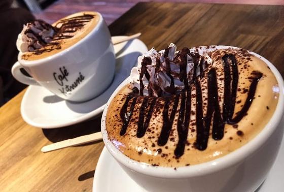 ほどよい甘さのコーヒー