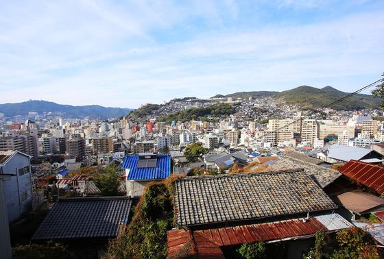 長崎市街風景