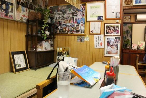 多くの芸能人・市長なども訪れるお店