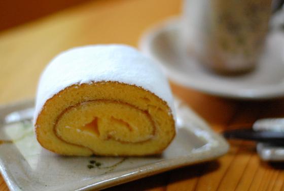 葛ロールケーキ